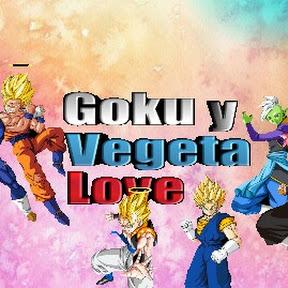 Goku y Vegeta love