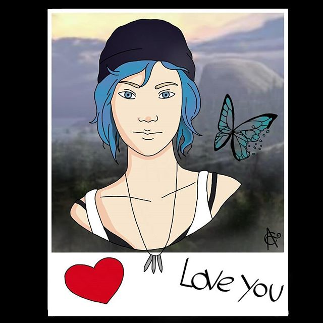 I love chloe price i wish i could be like her shes my favourite character. . . . #art #myart #doodle #doodlesofinstagram #drawthisinyourstyle #artwork #character #funart #coolartwork #cool #lifeisstrange