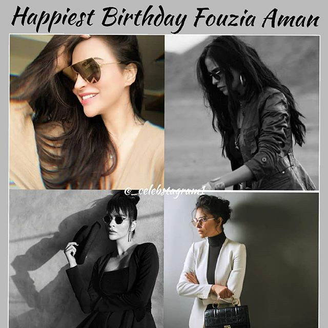 (Fouzia liked & reposted, Khoji liked) Happiest Birthday Beautiful !!! #FouziaAman Wishing you a happy year ahead @fouziaaman  #celebstagram1