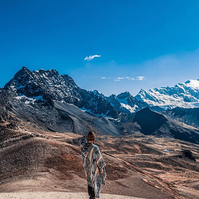 I was tempted to share with you my first picture from Peru with Rainbow Mountain. In fact, I found myself mind blown just 10 minutes walk from the famous spot where hundreds of people trying to get a perfect shot. On the right you can see Ausangate - the second highest peak and one of the most sacred mountains in Peru 🇵🇪 . . Huge thanks to @killaexpeditions for taking care of me and making sure I am well 🙏 The altitude is no joke guys so choose wisely your travel agency! . . . . #killaexpeditions #peru #cusco #rainbowmountain #ausangate #andes #andesmountains #trekkingperu #igersperu #discoversouthamerica #voyaged #cntraveller #worldnomads #worldpackers #sheisnotlost #sheexplores #journeyofgirls #girlsthatwander #backpackerstory #hikingboots #southamericatrip #nakedplanet #lightroom #lensculture #canonperu #allaboutadventures #visitperu