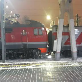 Поезда в объективе