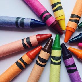 Colorful Rainbow Crayon