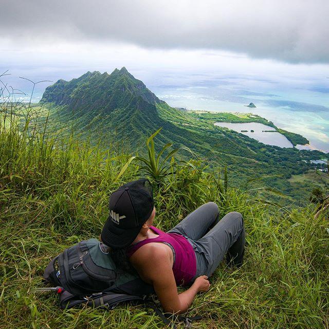 Happy Tuesday everyone! Summer is almost nearing, hope you've been spending it grand.  Not looking forward to the traffic in a few weeks. .B L I S S  I N  P A R A D I S E 🍃⛰🏝 . . . . . . . .#ragehawaii #ig_oahu #luckywelivehawaii #oahu #hawaii #adventuretime #escape #naturelover #ig_landscape #hikrlife #hiking #oahu #nakedhawaii #uloha #optoutside #rei #vh07v #mountainlife #aloha_outdoors #kualoaranch