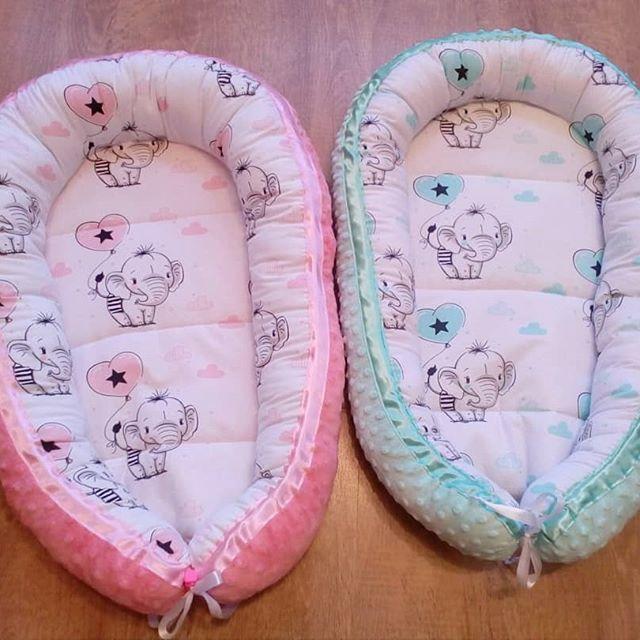 Nestchen für Zwillinge genäht 💕 #nähen #handmade #hobby #kreativ #baby #newborn #nestchen #kuschelkissen #minkystoff #nähenfürbabys #nähenmachtglücklich