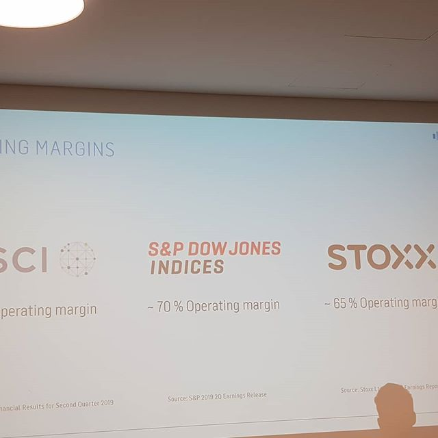 Passive investments are highly profitalble for #indexproviders like #stoxx #dowjones #msci  Startups are now out after them.  #rheinmainrocks #fintech #frmstartupscene #tech #technologie #investing #index #passiveinvesting #indexing #assetmanagement #mutualfunds #investmentfonds #indexprovider