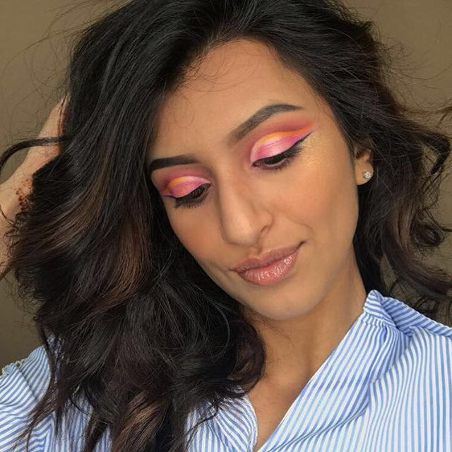 Hey y'all here's a pic of my gorgeous girl Suha HOW PRETTY IS SHE, I don't know how to describe this look because it has a bunch of elements in it so describe it how you want!! • • • PRODUCTS USED: FACE: @dior drip foundation @tartecosmetics shape take concealer @anastasiabeverlyhills contour kit @fentybeauty highlighter in trophy wife @anastasiabeverlyhills dip brow pomade  LIPS : @fentybeauty gloss in fussy  EYES: @morphebrushes 35b palette @morphebrushes JaclynhillXmorphe palette @nyxcosmetics precision eyeliner @benefitcosmetics roller mascara • • •  #morphebabe#hudabeauty#dressyourface#colourfullooks#undiscovered_muas