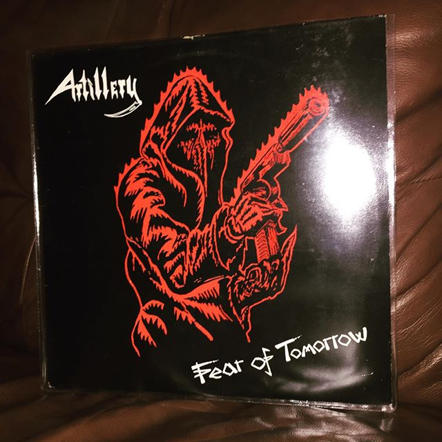 Why did it take me so long to finally check out Artillery? This album has been on near-repeat at Casa Del Luke for about a month. #Artillery #FearOfTomorrow #Thrash #ThrashMetal