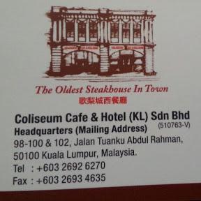 Coliseum Cafe