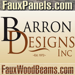 Faux Beams And Panels
