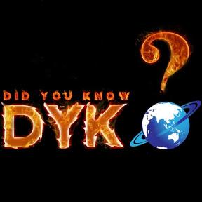 DYK-DidYouKnow?