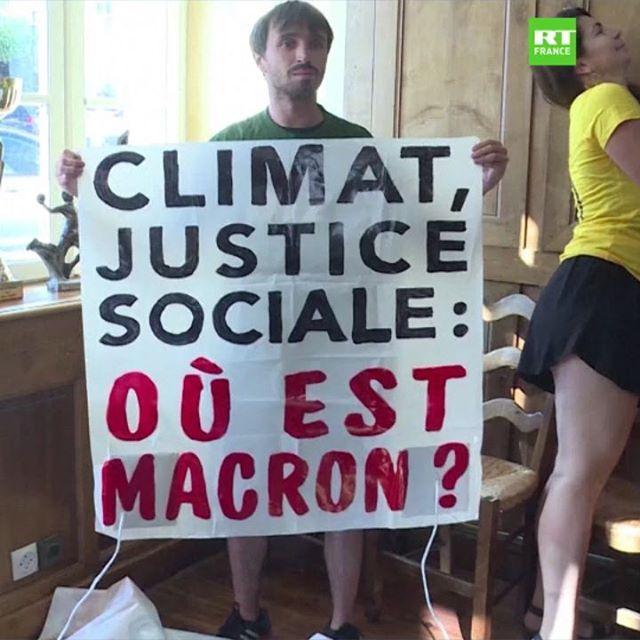 La relaxe pour les militants écolos décrocheurs de portraits de Macron