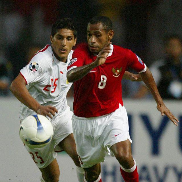 #OnThisDay in 2007: Indonesia beat Bahrain 2-1 in their AFC Asian Cup opening match at Gelora Bung Karno Stadium. Bambang Pamungkas scored the winning goal!