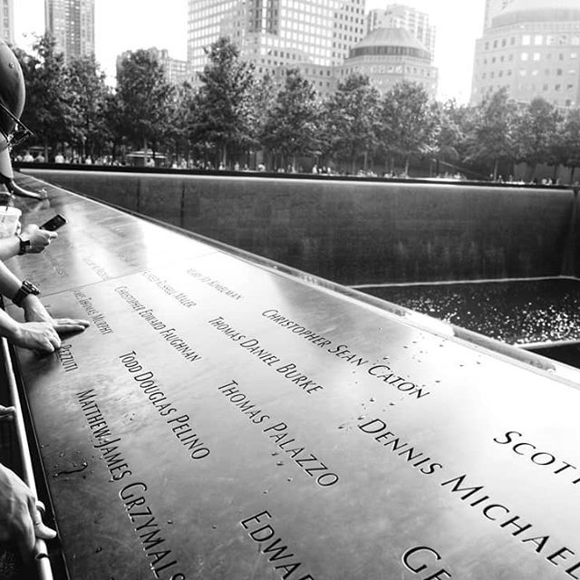 A moment to reflect, to honor and remember those who lost their lives on September 11, 2001.