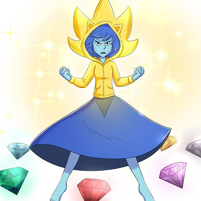 BTW we hit #1ksubscribers on YouTube! Here's a first look at Super Sonic Lapis!
