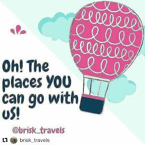 Brisk travels