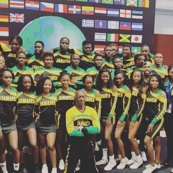 Team Jamaica Cheer would like to thank all our supporters and well wishers on our Journey to ICU Worlds 2019. This year we were placed 8th in the finals and we look forward to next season where we hope to make it to the top 5. We make special mention of our Head Coach, Jerone Heron, whose vision brought us a long way. Thank you to Mario Gates who has been with us every step of the way! Commendations to Richard Kilburn our choreographer. Special mention to Click n Clear & Synergy Sounds who provided our music and licenses (we couldn't have done it without u!) Thank you to Wayne Fyffe who kept the team outfitted and well fed. We commend the members of the administrative staff who ensured the team got the chance to compete. Lastly, we commend our athletes for their excellent performance and sportsmanship! One love, One Jamaica,  One Cheer!  @cheerforhappiness  @clicknclear_  @synergysounds  @mario_g52  @flowjamaica