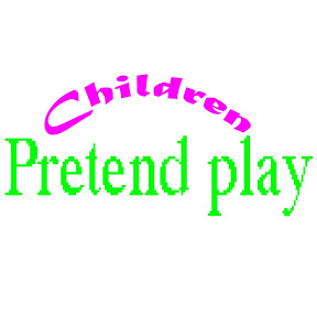 Children Pretend Play