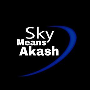 Sky Means Akash