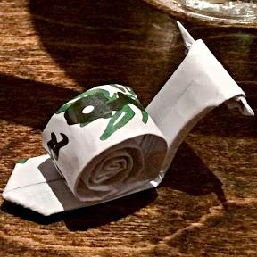 Origami At The Sushi Bar