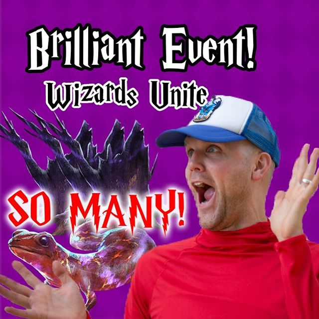 How's the Brilliant Event going for you? Day 2 and SO many unicorns and hippogriffs. Everything is coming along nicely.  New #YouTube video live! https://youtu.be/Z_DrBydaxLI @hpwizardsunite hpwizardsunite #harrypotter #wizardsunite