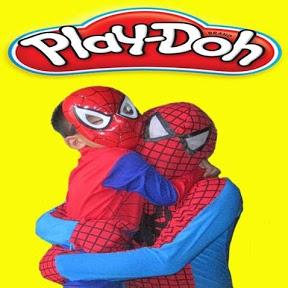 Spider Man Play Doh
