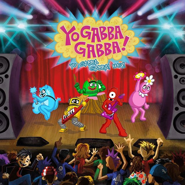 Hey! Ho! Let's Go! We're happy to celebrate the 10th anniversary of Yo Gabba Gabba! with this collection of the best Punk, Ska and Emo songs by our Super Music Friends. Available now digital and on LIMITED EDITION vinyl.  Yo Gabba Gabba! Hey! features songs performed by Weezer, Taking Back Sunday, Jimmy Eat World and My Chemical Romance! Download, stream or buy it on vinyl! Enjoy the Ride: http://enjoytheride.storenvy.com/ iTunes: http://radi.al/YoGabbaHeyiTunes Amazon: http://radi.al/YoGabbaHeyAmz