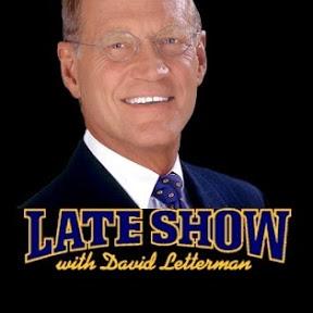 David Letterman show 2015