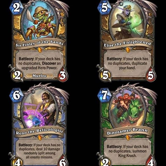 I am almost dissappointed. What do you think ? . Check the leggys revealed today— #hearthstone #blizzard #leggis #legends #sou #expansion #gaming #game #play #hs