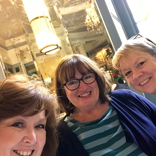 Loved celebrating my birthday with my fabulous friends @bellaandthemoo and @karen_lamb1 at @ivybathbrass . The very best company in a beautiful restaurant with super food and service. Can't wait now for our Christmas afternoon tea!