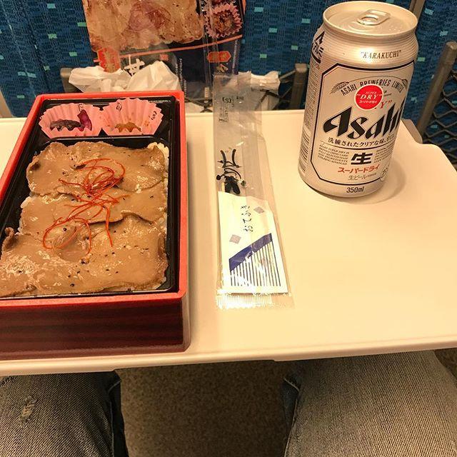 牛タン弁当美味しかった。また食べたい。。。