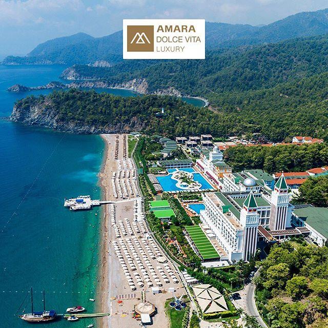 🌳🌞Eylül ayında biraz Akdeniz havası almaya ne dersin? Hayalindeki tatil için Amara Dolce Vita Luxury'de yerini ayırtmayı unutma! #etstur #seyahat #tatil #kesketatilolsa #amaradolcevita