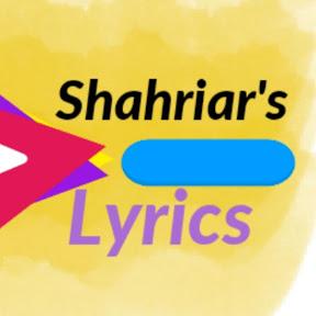 Shahriar's Lyrics