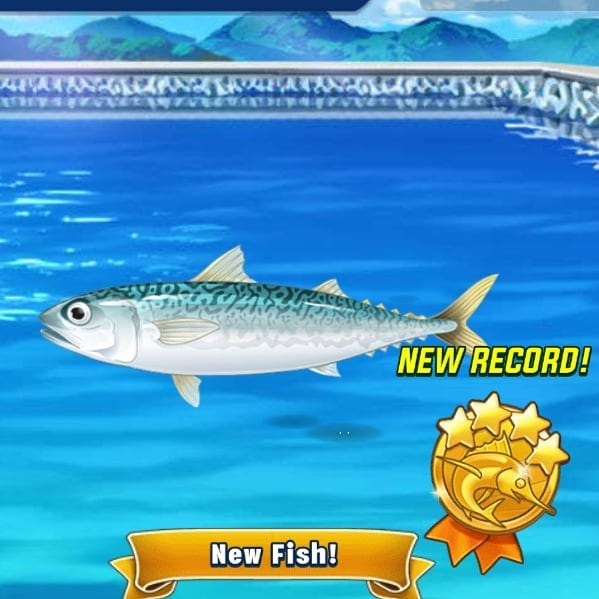 #Fish #🐠 #沙丁魚? ︳  至少這次的魚看起來 比較正常一點 ︳ 《#FishingStar》 #FishingGame #Game #遊戲 . #GoFishing #釣魚 #🎣 . #20190909 #Monday .