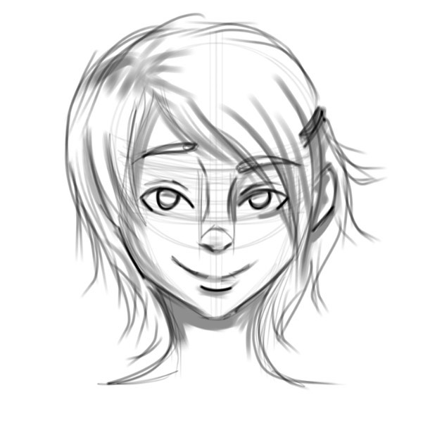 More face practice - #animeart #sketches #practiceart #mangaart