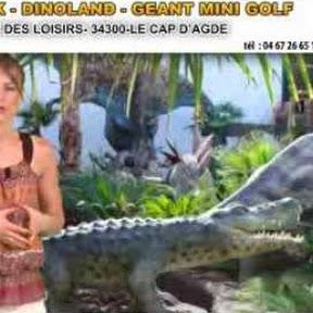 Dinoland - Dinopark - Geant Mini Golf - Topic
