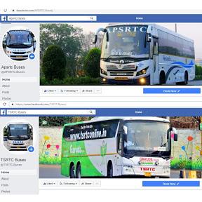 APSRTC Buses & TSRTC Buses