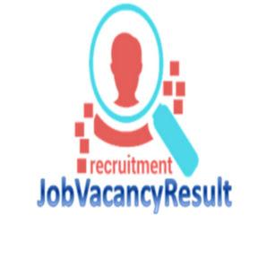 job vacancy result