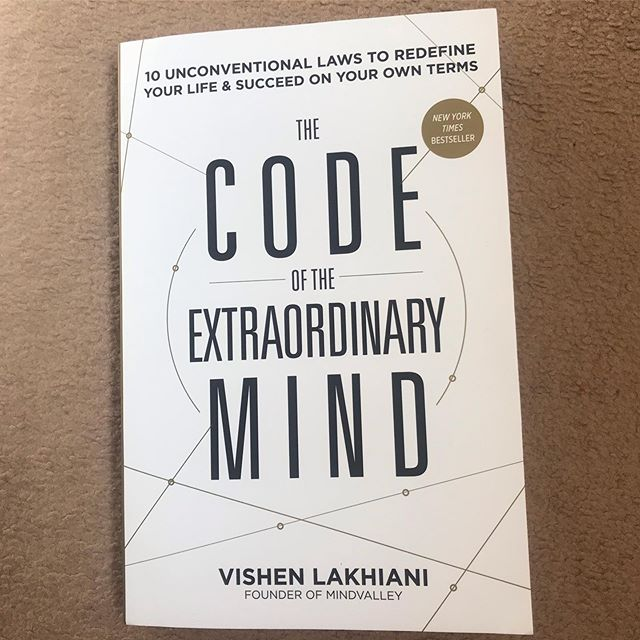 This just arrived in the post. I've heard many praises about @vishen book and saw a review on @gavindantez YouTube so had to dive in myself. Have you guys read this, any nuggets share them below. #codexmind #mindvalley