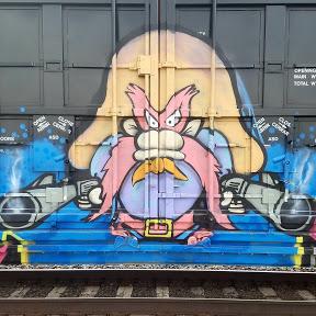 Amerikan Graffiti Tales of the Train Yard