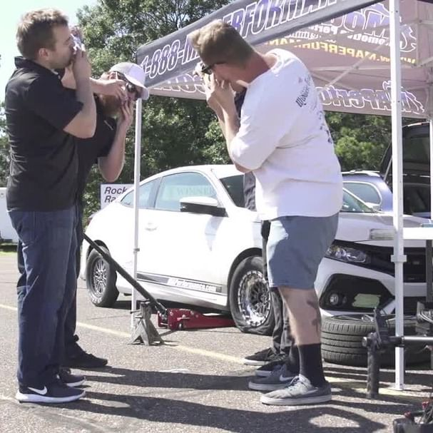 So after the Honda Broke the record, unlike most people who decide to visit Disney Land after a landmark success, we decided to support our friends at @redbull with a victory shotgunning. Please don't try this at home. We're trained professionals 😂Want to see the full video? Click the link in the bio  #maperformance #civic #honda #hondacivic #turbocivic #civicsi #jdm #vtec #turbo #civicx #10thgencivic #civicnation #civicsport  #hondanation #hondalove #redbull #givesyouwings