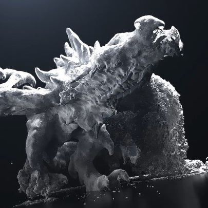Very cool dragon freezing shot by @hamid.jamali_official This is based on lesson 3 in the free Game of Thrones course. It's actually a Phoenix FD liquid simulation with high viscosity. The liquid sticks on the geometry and an animated emission mask makes it spread. An ice material completes the illusion. Link to the 7-lesson free course in bio 🔥 or RedefineFX.com/thrones  #phoenixfd #vfx #cgi #visualeffects #chaosgroup #redefinefx #pixelart #lucidscreen #mgcollective #visual_creatorz #thegraphicspr0ject #gsgdaily #oddlysatisfying #motiongraphics #3dsmax #motionprocess #cgiall #mdcommunity #mellowlines #3dartist #renderlovers  #motiondesign #seecgee #motionmate #supersequential #fxcreatives #renderzone #gsgdaily #artist_features #thedesignfix #doperadcool
