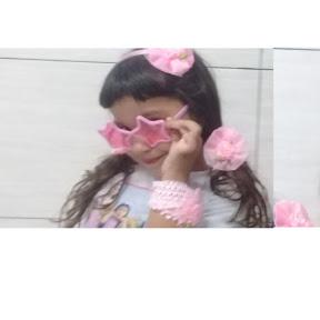 pink star meninas
