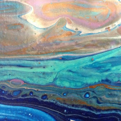 Jan with Acrylic Pour Studios