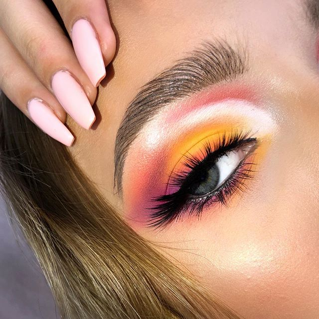 🍊🍇F R U I T  V I B E🍇🍊 Inspired by amazing @hiiamgorilla 🥰 Pls tag: @hiiamgorilla @thesaurum @basia_be @klaudia.owczarek  I hope you like it! Please share this look on your instastory☺️❤️ Products: • @miyo_makeup_ 5 Points Carnival • @pierrerene_professional Single Yellow Eyeshadow • @ingrid.cosmetics Brow Pomade in Light Brown • @anastasiabeverlyhills Riviera (White Eyeshadow) @evelinecosmetics Mascara with Orange spiral  @anastasiabeverlyhills Amrezy Highlighter✨ ——————————————————————— Hashtags:  #makeupideas #makeup #makeupartist #muasfam #mua #youngmua #muasquad #makeuptutorial #makeupforprom #instamua #instamakeuplovers #instamakeup #makeuplife #muafamily #muasupport #muasfeaturing #freshmua #juicy #coolmakeup