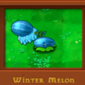 PVZ Gatling Pea & Winter Melon