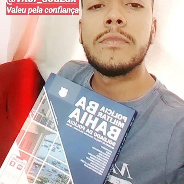 Não busque atalhos, entre no jogo e busque a vitória. Valeu pela confiança @vitor_souzax . . . . . . #policial #policia #policiamilitar #police #policiacivil #militar #papamike #pmba #policiafederal #pm #policialfeminina #bope #concurseiro #servireproteger #policiafeminina #brasil #concurseira #estudaquepassa #honra  #policiabrasileira #prf #pf #pmbahia #pmbahiana #policiamilitardabahia #pmbahia2019⚡💀⚡👊 #pmbahia2019  #pmba2019👮🏻♀️
