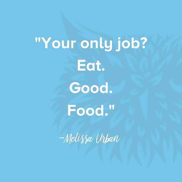 The #whole30 is only as hard as you make it! @Melissa_hartwig Urban said it best: your only job is to eat compliant food!⠀ .⠀ .⠀ .⠀ .⠀ #whole30 #quoteoftheday #liveprimal
