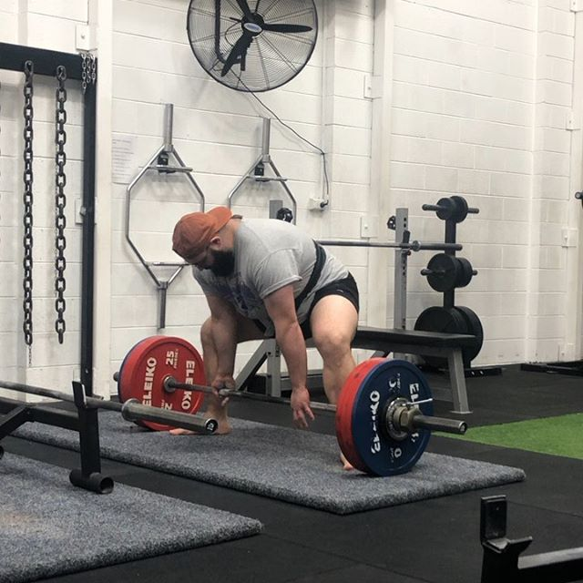 OG Member Andy K nailing some lifetime PRs in the lead up to his first Powerlifting comp at @jpshealth_fitness in November. . 222.5kg x2 Deadlift PR 130kg Bench Press . Andy also squatted 220kg for a smooth as silk single last week. Looking to build a big total somewhere around the 650s. Coached by @didiervassou . To book your assessment PM the page or reach us through the links in our bio. #strengthculture #huntprogression. . #strength #strengthandconditioning #strong #fittip #mobility #stability #powerlifting #strengthtraining #strengthandconditioning #coaching #gym #gymtip #strengthcoach #squat #benchpress #sportsperformance #athleticperformance #movement #deadlift #functionaltraining #assessment #weightlifting #training #anatomy #fitnesstip