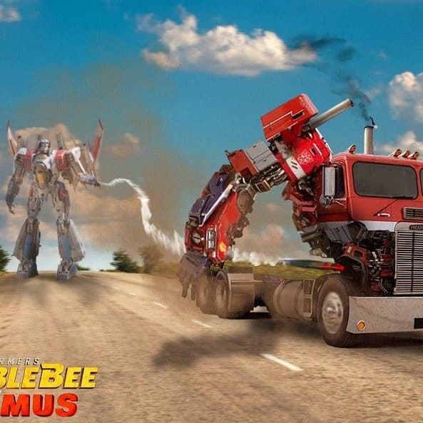 Optimus vs Starscream scene idea. #bumblebee #bumblebeemovie #transformers #optimus #starscream #fanart