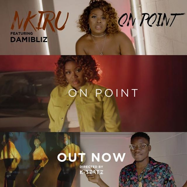 @nkirukaofficial - On Point (official video) Out Now!! 🕺🏾💃🏾 (Link in her bio!)